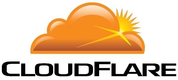 Cloud flare logo