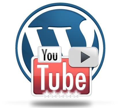 YouTube+WordPress Logo